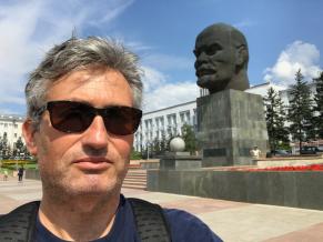 Ulan Ude ist stolz auf den grössten Lenin der Welt.