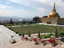 Ulan Ude liegt in Burjatien und ist ein Zentrum des Buddhismus in Russland.