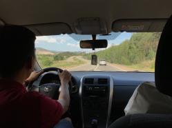 Fahrt an den Baikalsee.