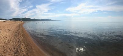 Traumhafte Badestrände am Baikalsee.
