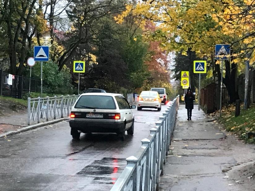Signalisation vor Schulen: Von Russlandlernen