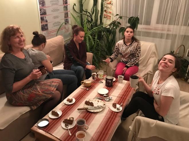 Bild 7 - Tee und Kuchen